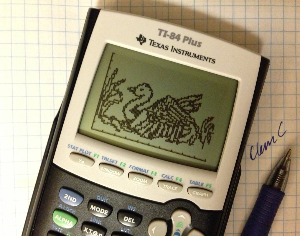Calculator Art - CLEM C